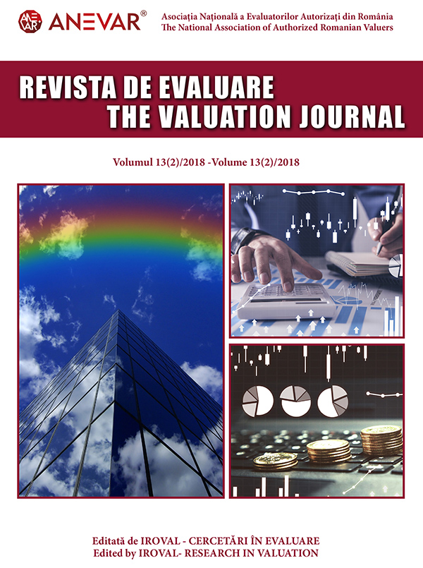 """Rvista de Evaluare – The Valuation Journal"" – Ediție nouă"