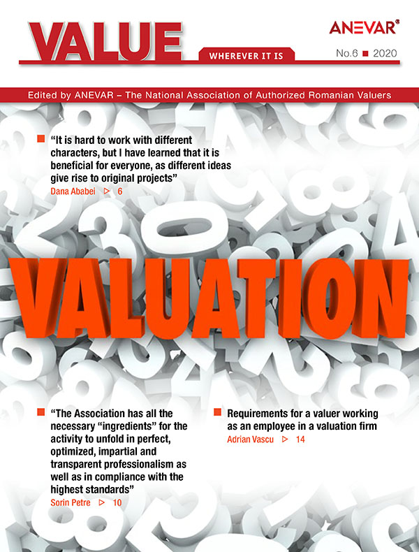 "Revista ""VALUE- WHEREVER IT IS"" – Nr. 6"